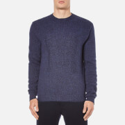 MSGM Men's Knitted M Jumper - Blue