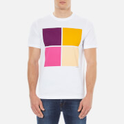 PS by Paul Smith Men's Crew Neck Box Logo T-Shirt - White