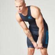 Myprotein Mens Triathlon Suit  Blue  S