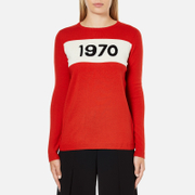 Bella Freud Women's 1970 Merino Wool Jumper - Red