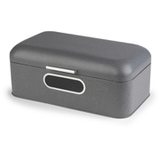 Salter Marble Collection Grey Window Bread Bin