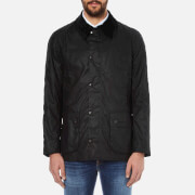Barbour Heritage Mens Ashby Waxed Jacket  Black  S