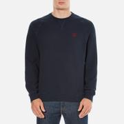 Barbour Heritage Mens Standards Sweatshirt  Navy  M