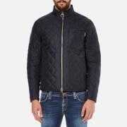 Barbour International Mens Axle Quilt Jacket  Navy  XXL