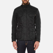 Barbour International Mens Ariel Polarquilt Jacket  Black  S