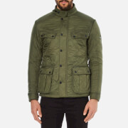 Barbour International Mens Ariel Polarquilt Jacket  Olive  XXL