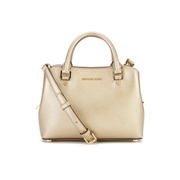 MICHAEL MICHAEL KORS Savannah Small Satchel - Gold