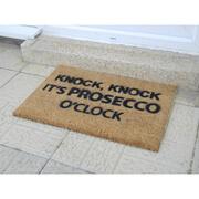 Image of Prosecco O'Clock Doormat