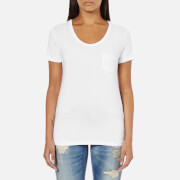 Superdry Women's Essentials Drapey Pocket T-Shirt - Optic