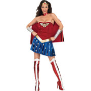 DC Comics Women's Wonder Woman Fancy Dress