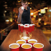 Giant Beer Pong XXL - Red