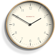 Newgate Mr. Clarke Wall Clock - Pale Wood