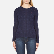 Polo Ralph Lauren Women's Julianna Crew Neck Jumper - Hunter Navy