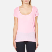 Polo Ralph Lauren Women's Scoop Neck T-Shirt - Pink Tailor Rose