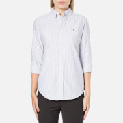 Polo Ralph Lauren Women's Harper Shirt - Grey Stripe