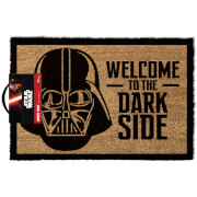 Star Wars 'Welcome To The Dark Side' Doormat - Black (40 x 60cm)