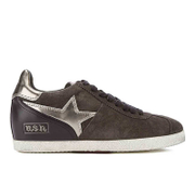 Ash Women's Guepard Bis Wedged Low Top Trainers - Bistro/Bistro/Cargo - UK 6