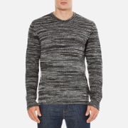 YMC Mens Wickerman Crew Neck Jumper  Charcoal  S