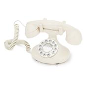 GPO Pearl Classic Retro Corded Telephone - Ivory