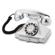 GPO Retro 1929S Classic Carrington Push Button Telephone - Chrome