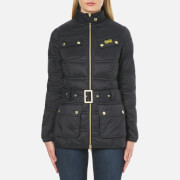 Barbour International Women's Pannier Baffle Quilt Jacket - Black
