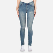 Cheap Monday Women's 'Second Skin' Jeans - Offset Blue - W24/L30