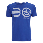 Crosshatch Men's Onsite Graphic T-Shirt - Mazarine Blue