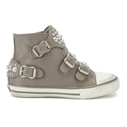 Ash Kids' Frog Leather Buckle Hi Top Trainers - Perkish - EU 28/UK 10 Kids - Salescache