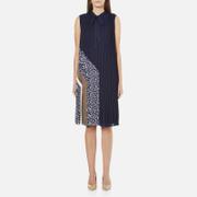 Diane von Furstenberg Women's Anabel Dress - Midnight/Canvas