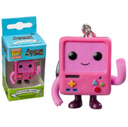 Adventure Time Blushing Pink BMO Porte-clés Pocket Pop!