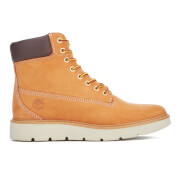 Timberland Women's Kenniston 6 Inch Leather Lace Up Boots - Wheat - UK 3.5 - Tan
