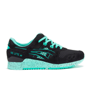 Asics Womens GelLyte III Bright Pack Trainers  Black  UK 4