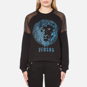 Versus Versace Women's Versus Lion Sweatshirt - Black/Blue