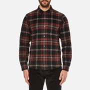 A.P.C. Men's Trevor Checked Shirt - Noir