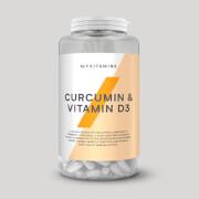 Gélules de Curcumine et Vitamine D