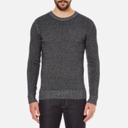 J.Lindeberg Men's Jamie Twist Jumper - Black