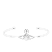 Vivienne Westwood Jewellery Women's Grace Bas Relief Bangle - Crystal