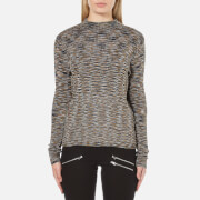 Vero Moda Women's Adinah Long Sleeve Funnel Neck Top - Harvest Gold