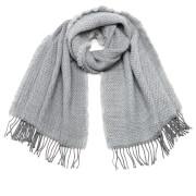 Vero Moda Women's Louisa Long Scarf - Light Grey