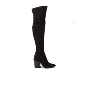 Kendall + Kylie Women's Portia Suede Thigh High Boots - Black