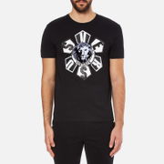 Versus Versace Men's Large Logo T-Shirt - Black