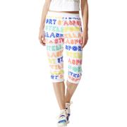 adidas Women's Stellasport 3/4 Track Pants - White - XXS/UK 0-2 - White
