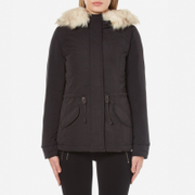 ONLY Women's Lucca Short Parka - Black