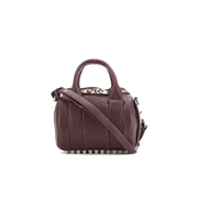 Alexander Wang Women's Mini Rockie Bowler Bag with Silver Hardware - Beet