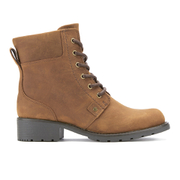 Clarks Women's Orinoco Spice Leather Lace Up Boots - Brown