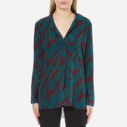 By Malene Birger Women's Alya Shirt - Deep Ruby