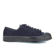 Converse Men's Jack Purcell Twill Shield Canvas Ox Trainers - Inked/Inked/Almost Black