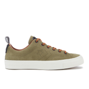Converse CONS Men's Star Player Premium Suede Ox Trainers - Jute/Antique Sepia/Egret - UK 7