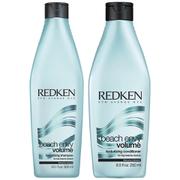 Redken Beach Envy Volume Texturizing Shampoo (300 ml) og Beach Envy Volume Texturizing Conditioner (250m l)