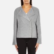 Selected Femme Women's Adana Jacket - Medium Grey Melange - EU 34/UK 6